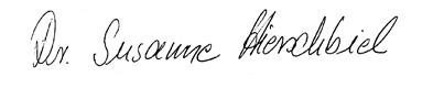 Unterschrift Hirschbiel